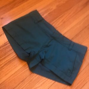 Hurley green shorts - good condition size 9